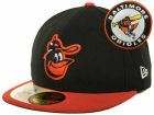 Baltimore Orioles New Era MLB Cooperstown Patch 59FIFTY Cap Fitted Hats