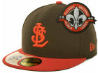 St. Louis Browns New Era MLB Cooperstown Patch 59FIFTY Cap Fitted Hats