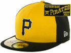 Pittsburgh Pirates New Era MLB Cooperstown Patch 59FIFTY Cap Fitted Hats