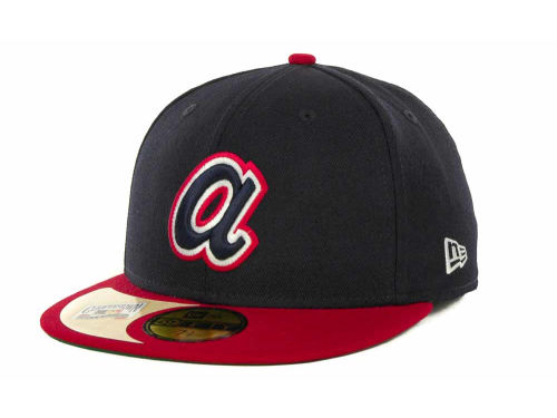 Atlanta Braves New Era MLB Cooperstown Patch 59FIFTY Cap Hats