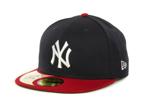 New York Yankees New Era MLB Cooperstown Patch 59FIFTY Cap Hats