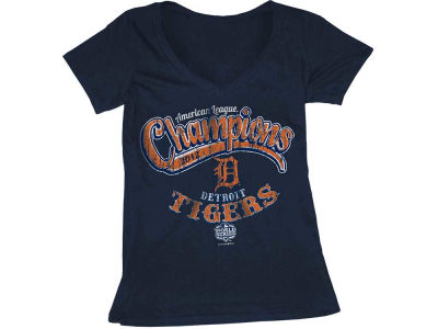 Detroit Tigers MLB Womens League Champ T Shirt 2012