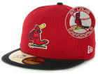 St. Louis Cardinals New Era MLB Cooperstown Patch 59FIFTY Cap Fitted Hats