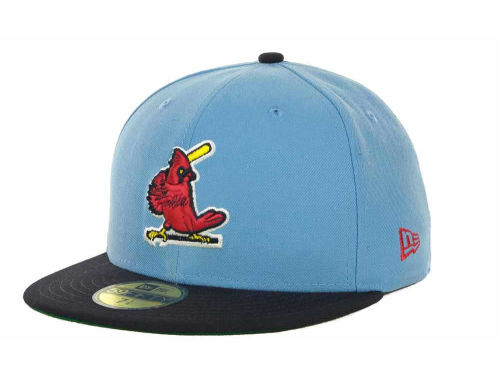 St. Louis Cardinals New Era MLB Cooperstown Patch 59FIFTY Cap Hats