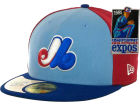 Montreal Expos New Era MLB Cooperstown Patch 59FIFTY Cap Fitted Hats