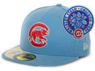 Chicago Cubs New Era MLB Cooperstown Patch 59FIFTY Cap Fitted Hats