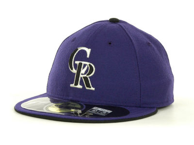 Colorado Rockies MLB Low Crown AC Performance 59FIFTY Cap Hats