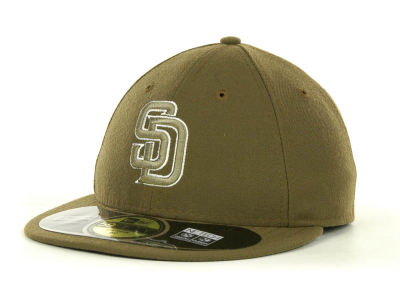 San Diego Padres MLB Low Crown AC Performance 59FIFTY Cap Hats