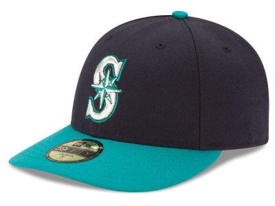Seattle Mariners MLB Low Crown AC Performance 59FIFTY Cap Hats