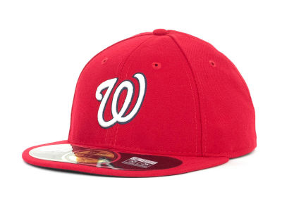 Washington Nationals MLB Low Crown AC Performance 59FIFTY Cap Hats