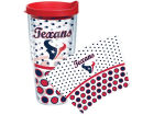 Houston Texans Tervis Tumbler NFL 24oz. Polka Dot Tumbler w/Lid Gameday & Tailgate