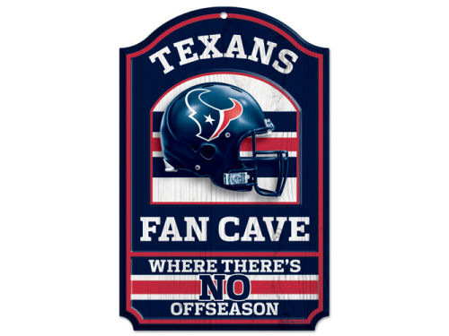 Houston Texans Wincraft 11x17 Wood Sign