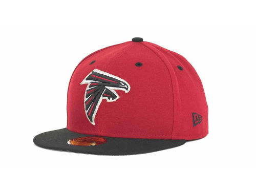 Atlanta Falcons New Era NFL 2 Tone 59FIFTY Cap Hats
