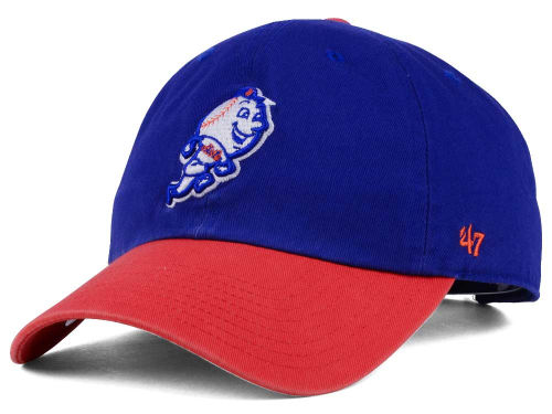 New York Mets MLB On-Field Replica '47 CLEAN UP Cap Hats