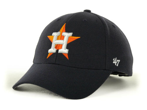 Houston Astros '47 Brand MLB MVP Curved Cap Hats