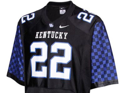 Kentucky Wildcats #22 Nike NCAA Replica Football Jersey