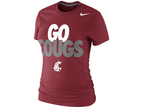 Washington State Cougars Nike NCAA Womens Local T-Shirt 2013