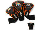 Miami Marlins Team Golf Headcover Set
