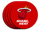Miami Heat 4-pack Neoprene Coaster Set Kitchen & Bar