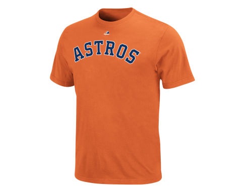 Houston Astros Majestic MLB Youth Official Wordmark T-Shirt
