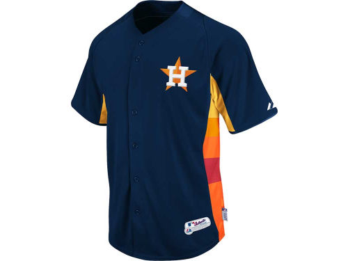 Houston Astros Majestic MLB Cool Base Batting Practice Jersey