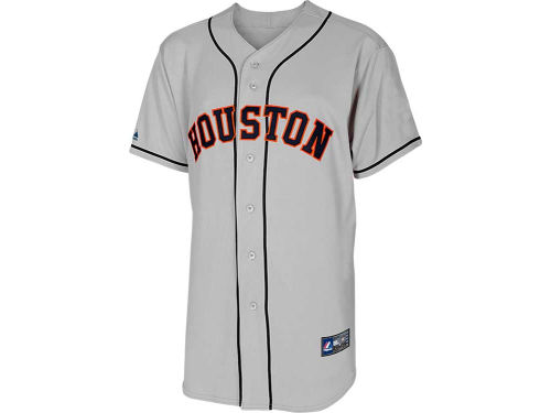 Houston Astros Majestic MLB Blank Replica Jersey