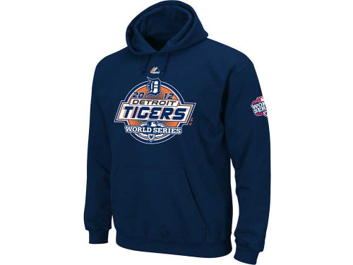 Detroit Tigers Majestic MLB World Series On the Mark Hoodie 2012