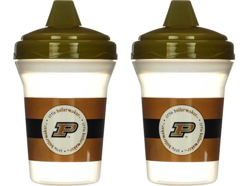 Purdue Boilermakers MLB Sippy Cup 2 pack
