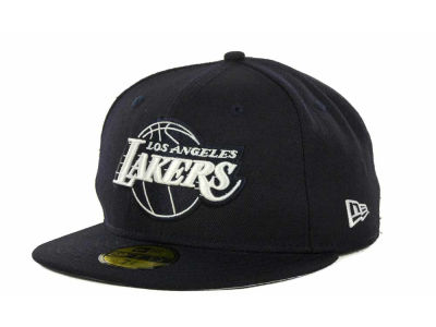 Los Angeles Lakers NBA Hardwood Classics League Basic 59FIFTY Cap Hats
