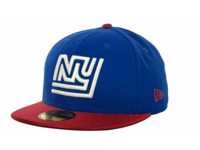 New York Giants NFL Jersey Basic 59FIFTY Cap Hats