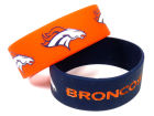 Denver Broncos Wide Bracelet 2pk Aminco Apparel & Accessories
