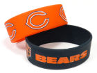Chicago Bears Wide Bracelet 2pk Aminco Apparel & Accessories