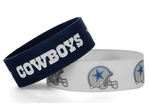 Dallas Cowboys Aminco Inc. Wide Bracelet 2pk