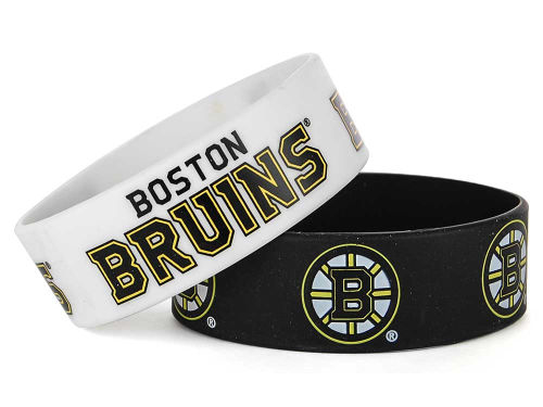 Boston Bruins Aminco Inc. Wide Bracelet 2pk