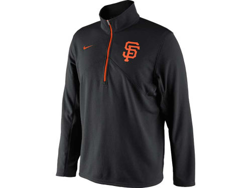 San Francisco Giants Nike MLB Dri-Fit Training 1/4 Zip Pullover