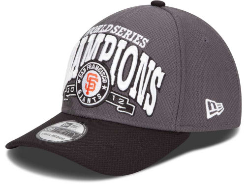 San Francisco Giants New Era 2012 World Series LR 39THIRTY Cap Hats