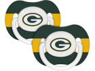 Green Bay Packers NFL Pacifier 2 pack Newborn & Infant