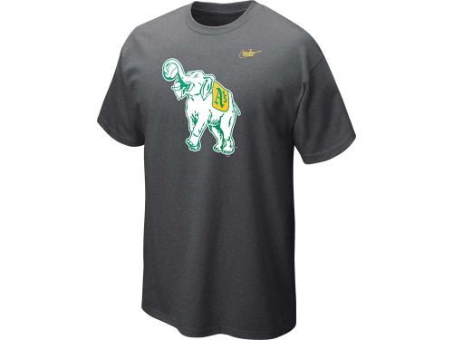 Oakland Athletics Nike MLB CP Dugout Logo T-Shirt
