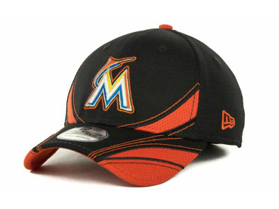 Miami Marlins MLB Spring Tech 39THIRTY Cap Hats