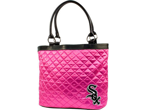 Chicago White Sox MLB Pink Quilted Tote