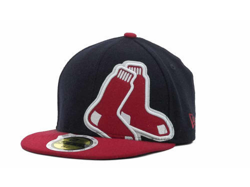 Boston Red Sox New Era MLB Kids Felt Frill 59FIFTY Hats