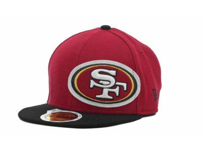 San Francisco 49ers NFL Kids Felt Frill 59FIFTY Cap Hats