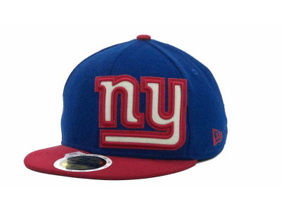 New York Giants NFL Kids Felt Frill 59FIFTY Cap Hats