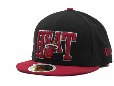 Miami Heat NBA Kids 2TB 59FIFTY Cap Hats