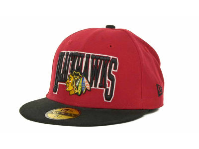 Chicago Blackhawks NHL Kids 2TB 59FIFTY Cap Hats