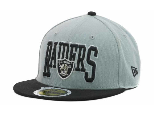 Oakland Raiders New Era NFL Kids 2TB 59FIFTY Cap Hats