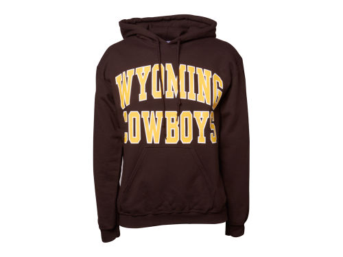 Wyoming Cowboys NCAA Bold Arch Hoody