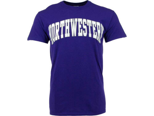 Northwestern Wildcats NCAA 2 for $25  New Agenda NCAA Bold Arch T-Shirt