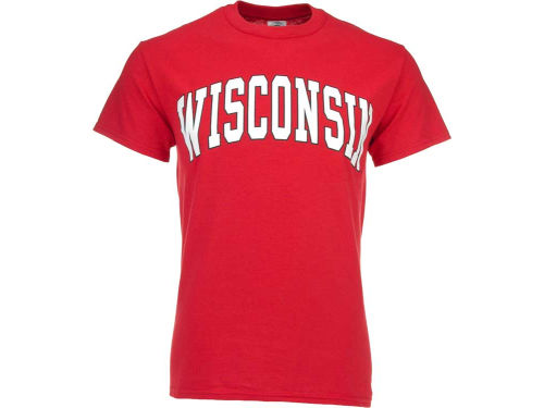 Wisconsin Badgers NCAA Bold Arch T-Shirt