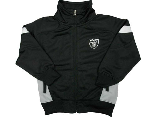 Oakland Raiders Outerstuff NFL Toddler Premier Track Jacket